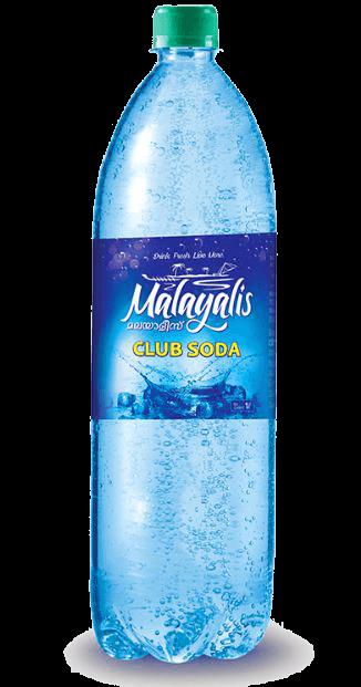 Malayalis Club Soda Bottle Label