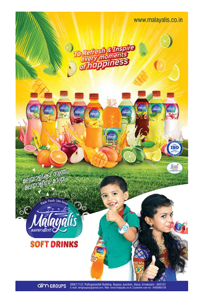 Malayalis Soft Drinks Poster