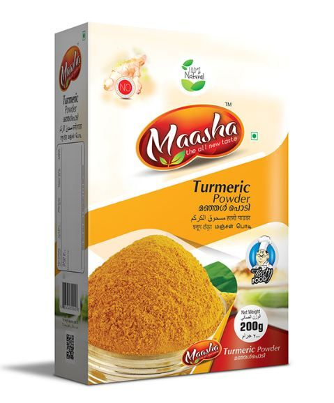 Maasha Turmeric Powder Box