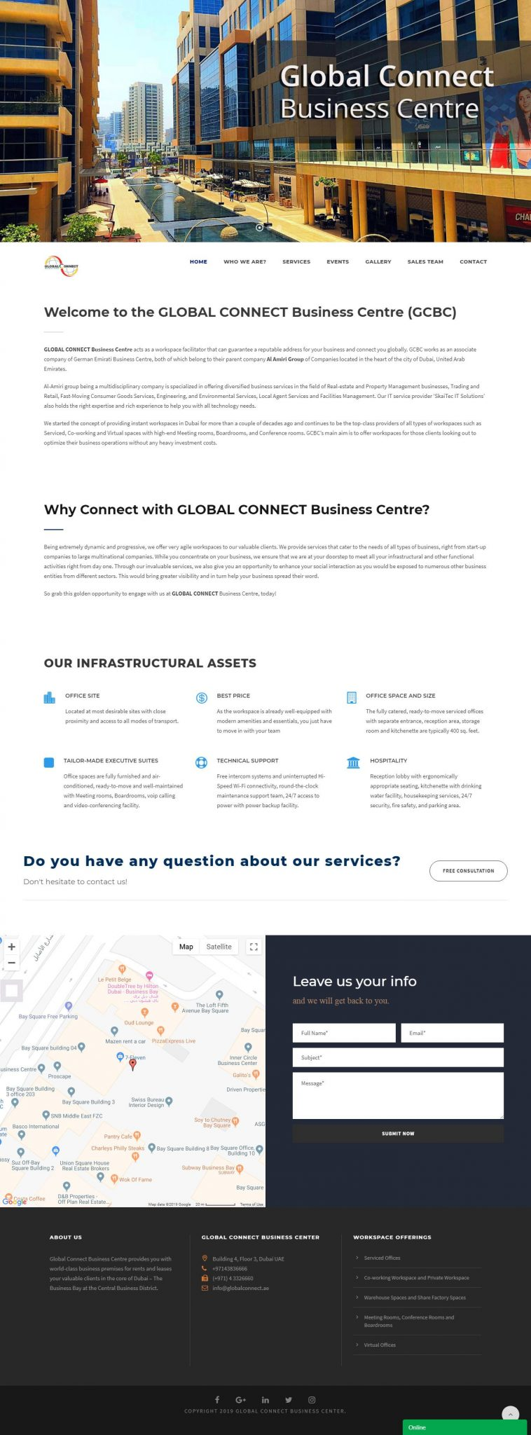 Global Connect Business Center 1