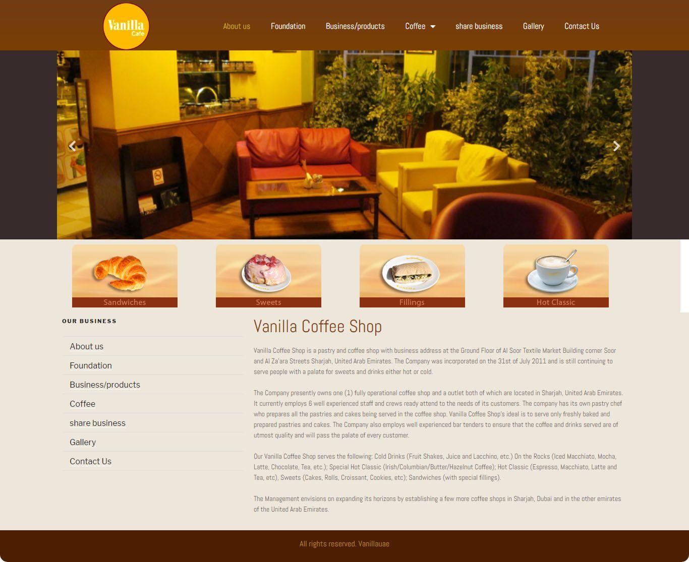 Vanilla Cafe 1