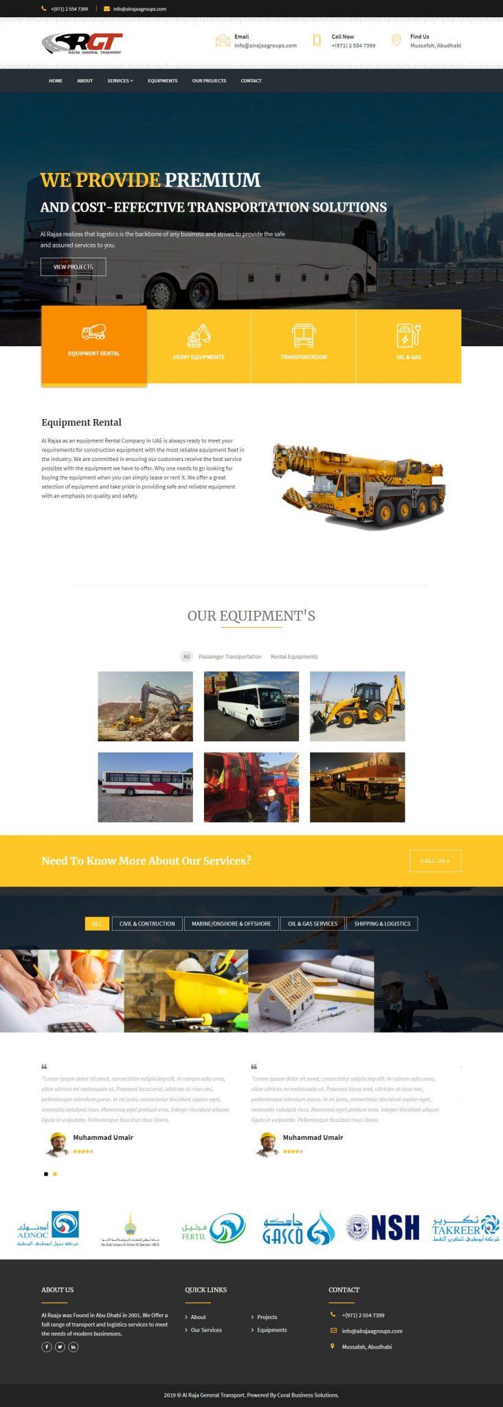 Al Rajaa General Transport 1