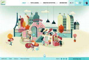 animations in website design