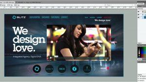 video in website design