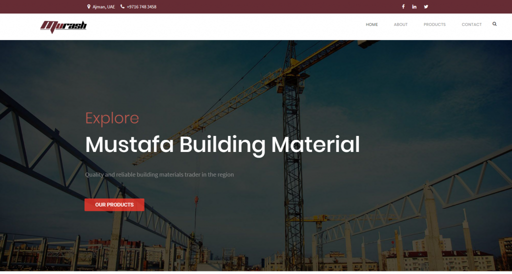 Mustafa Building Material Featured Image