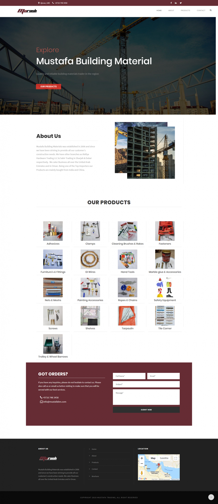 Mustafa Building Material